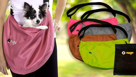Nugo tašky a packočističe: ideální na cesty s pejsky