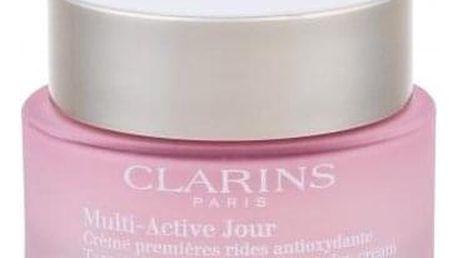 Clarins Multi-Active 50 ml denní pleťový krém proti vráskám na suchou pleť pro ženy