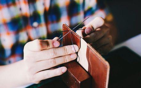 Kurz ruční výroby psaníčka z pravé kůže