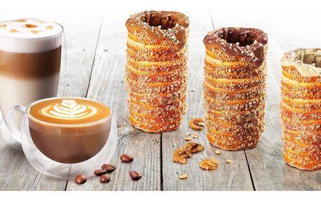 Vymazlené trdelníky: s příchutí, náplní i kávou