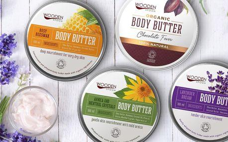 Luxusní péče: organická tělová másla a balzámy