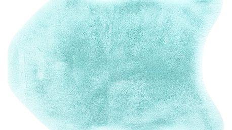 BO-MA Trading Kožešina Catrin tyrkysová, 60 x 90 cm