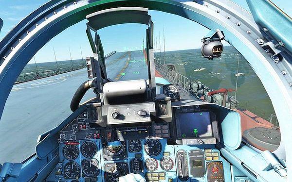 Let na pohyblivém leteckém simulátoru   Brno   Celoročně.   120 minut.5