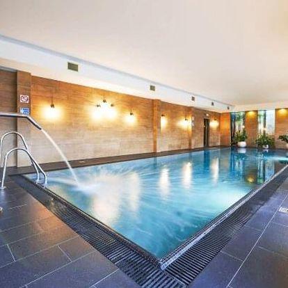 Polské Krkonoše na hranicích s Českem v luxusním apartmánu v Cristal Resortu s neomezeným wellness a polopenzí