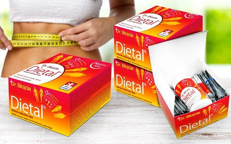 Redukční kúra Dietal: tablety a ovocné nápoje