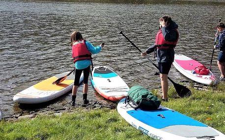 Pětidenní příměstský tábor s paddleboardy