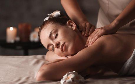 90 minut hýčkání: masáž i hubnoucí zábal
