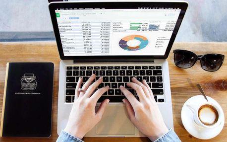 Neomezený online kurz Excelu s certifikátem