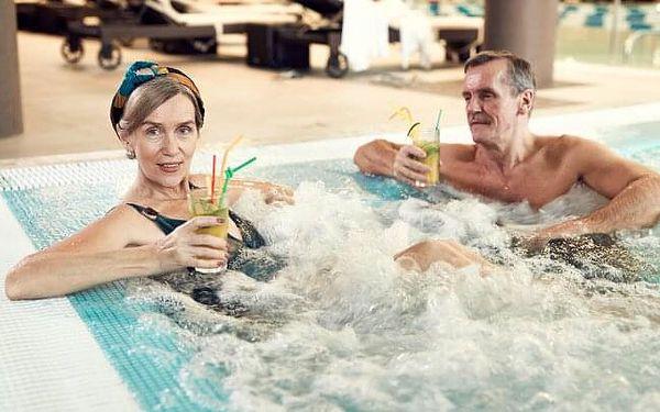 Seniorský pobyt 60+: Turčianské Teplice v Hotelu Rezident *** se vstupem do aquaparku, procedurami a polopenzí