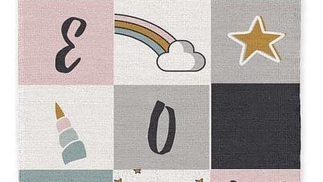 TODAY TODAY KIDS bavlněný koberec Meow 60x120 cm