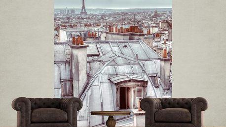 1Wall fototapeta Střechy Paříže 158x232 cm
