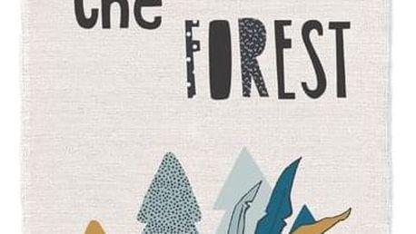 TODAY TODAY KIDS bavlněný koberec Child of the Forest 60x170