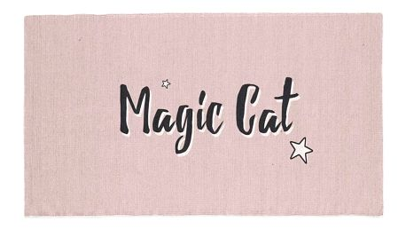 TODAY TODAY KIDS bavlněný koberec Magic Cat pink 60x120 cm