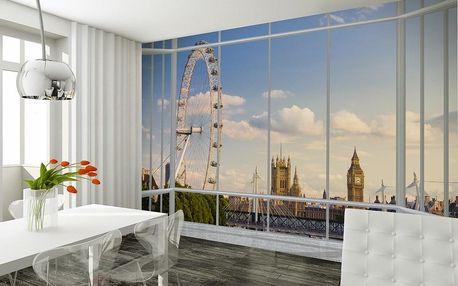 1Wall fototapeta Výhled na Londýn 315x232 cm