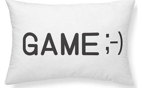 TODAY TODAY KIDS semišový polštářek Geek Game 30x50 cm