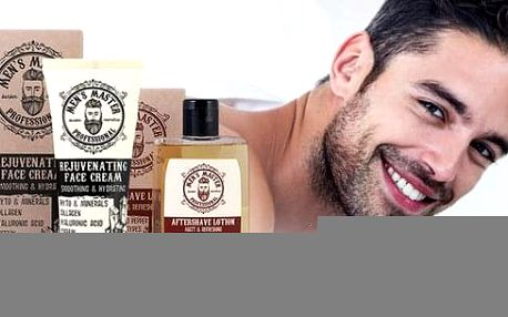 Speciální řada bio kosmetiky pro muže Mens Master