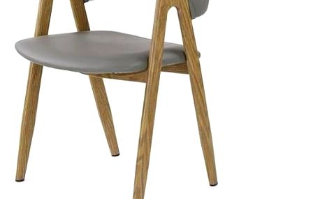 Jídelní židle K247 bílá