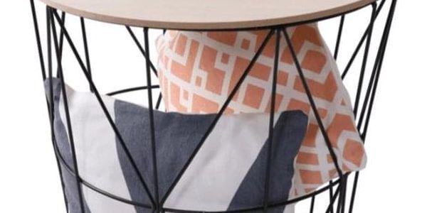 Tempo Kondela Příruční stolek Nancer 1, přírodní2