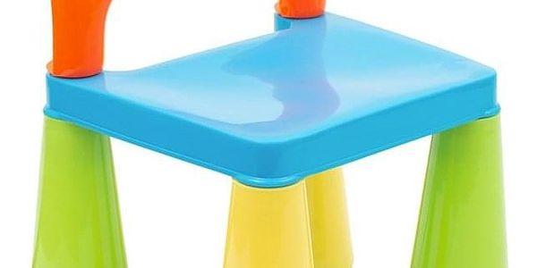 New Baby sada stoleček a dvě židličky multi color5