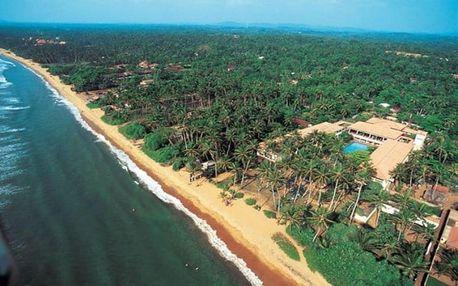 Srí Lanka letecky na 10 dnů, all inclusive