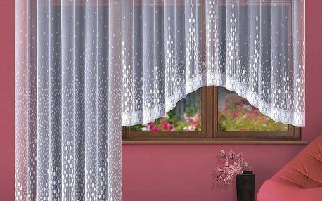 Forbyt Kusová záclona Paula, 280 x 130 cm, 280 x 130 cm