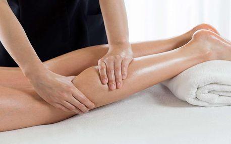 Manuální lymfodrenáž nohou včetně uvolnění uzlin na 50 minut