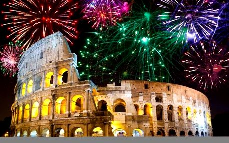 Itálie - Řím autobusem na 4 dny, strava dle programu