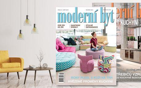 Roční předplatné časopisu Moderní byt