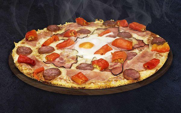 2x Chacharova pizza s rozvozem k vám domů4