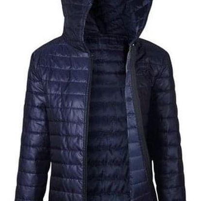 Lehká prošívaná bunda - Modrá-velikost č. 3 - dodání do 2 dnů