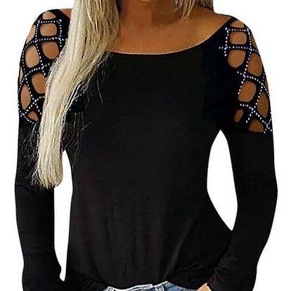 Dámské tričko s dlouhým rukávem Jaylinn - dodání do 2 dnů