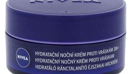 Nivea Anti Wrinkle + Moisture 50 ml protivráskový noční pleťový krém pro ženy