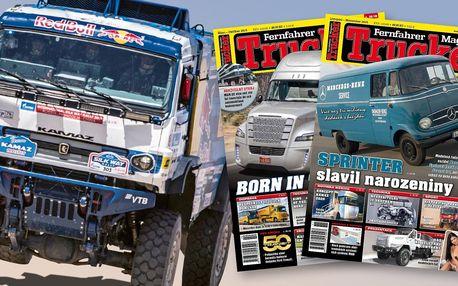 Roční předplatné časopisu Trucker: 12 čísel