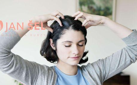 Online kurz tlakové masáže pro odstranění bolesti hlavy