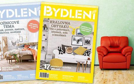 Roční předplatné časopisu Bydlení