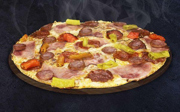 2x Pepinova pizza s rozvozem domů5