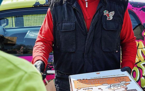 2x Parťákova pizza s rozvozem domů4