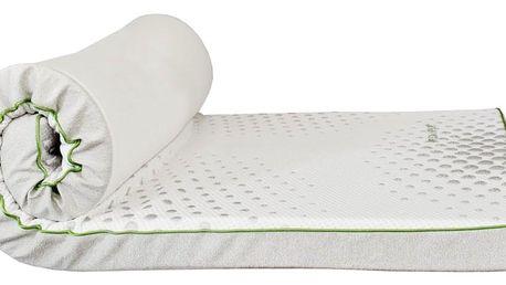 DREAMPUR Vrchní matrace (přistýlka) z latexové pěny DREAMPUR® grey dots 8,5 cm