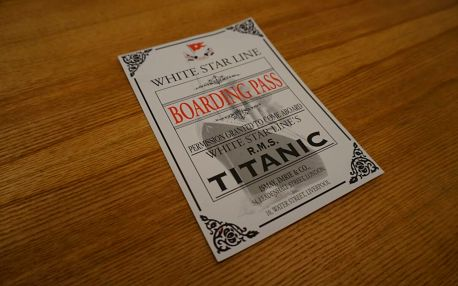 Úniková hra Titanic