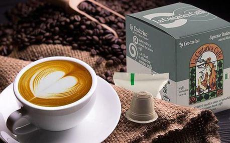 Kávové kapsle La Costarica se 4 druhy příchutí