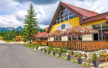 Vysoké Tatry: Hotel Rysy *** s wellness, vstupem do aquaparku, procedurami a balíčkem slev + polopenze