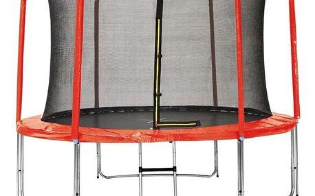 Marimex | Sada krytu pružin a rukávů pro trampolínu 366 cm - červená | 19000775