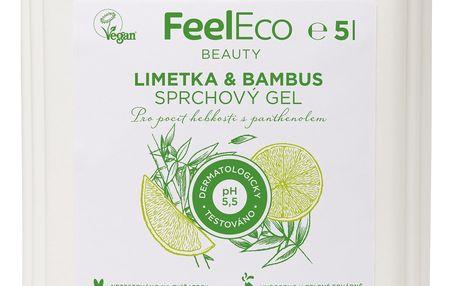 FEEL ECO Sprchový gel Limetka & Bambus 5l