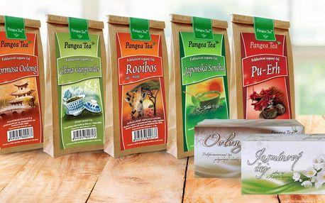 Sypané, lisované a porcované čaje