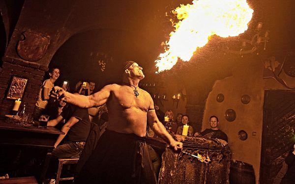 Noc v tradičním středověkém pokoji | 1 osoba | 2 dny (1 noc)3