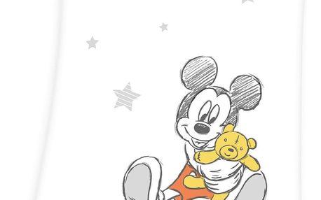 Herding Dětská deka Mickey Mouse, 75 x 100 cm