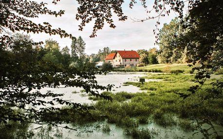 Na samotě u rybníka: 2–7 klidných nocí se snídaní