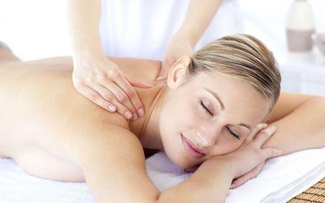 Uvolňující masáž dle výběru od zrakově postižených masérů