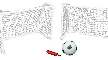 MASTER Goal set dvě branky 61 x 45 x 30 cm s míčem