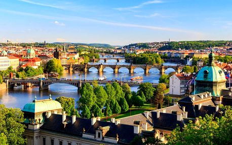 Hotel Meda **** v centru Prahy se snídaní a dítětem do 10 let zdarma